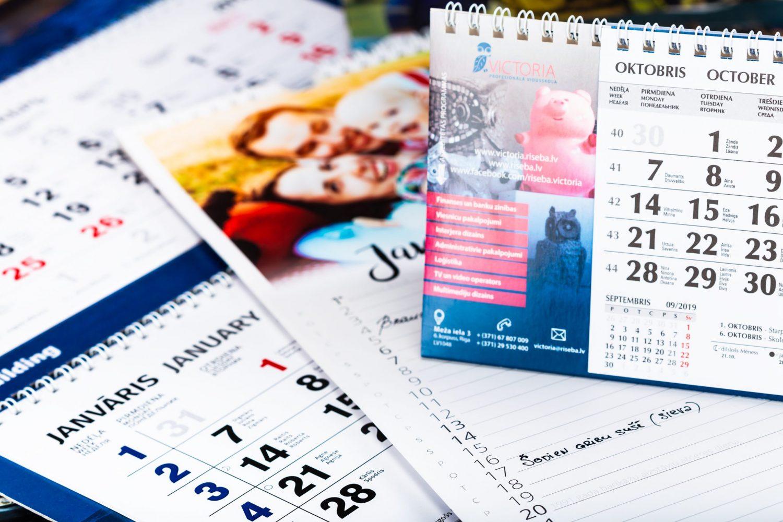 2022. gada galda kalendāri
