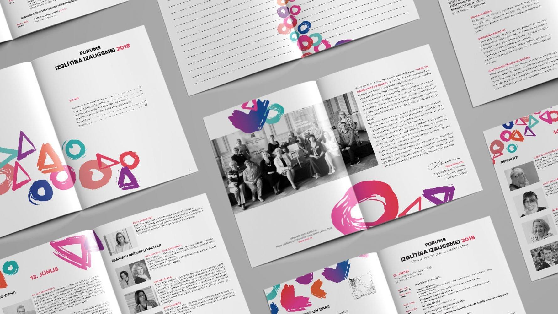 Katalogu un brošūru izgatavošana un druka