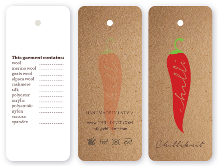 Production of tags and price tags